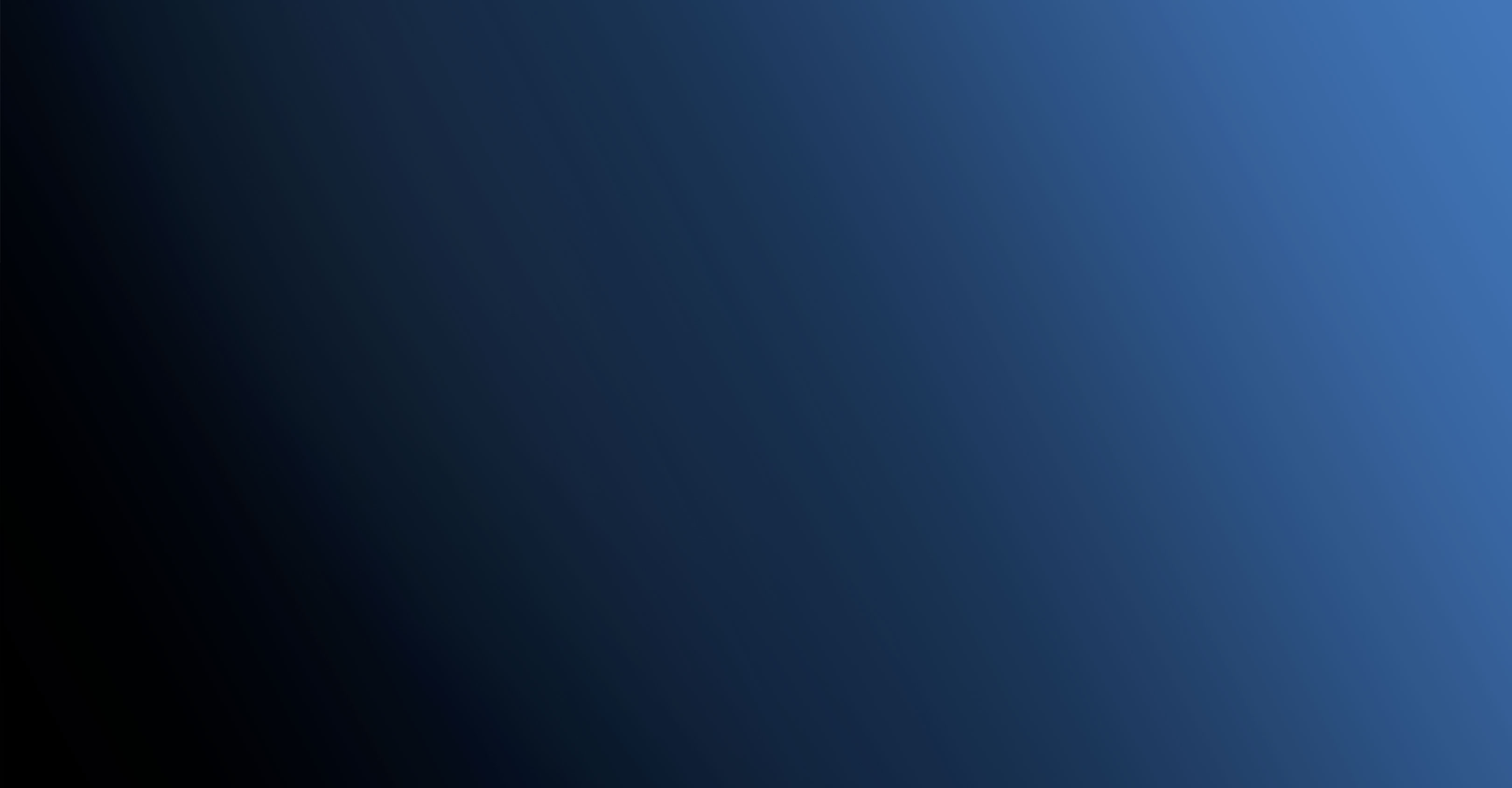 Zwart naar blauwe gradient